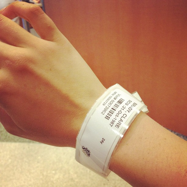 hospital bracelets - Jewelry FlatHeadlake3on3
