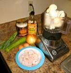 """Paleo Shrimp and Zucchini Cauliflower Fried """"Rice"""""""