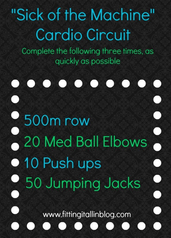 """Cardio circuit"""