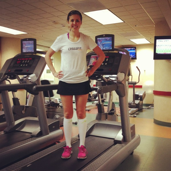 """compression socks treadmill"""