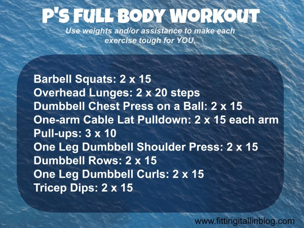 """full body workout"""