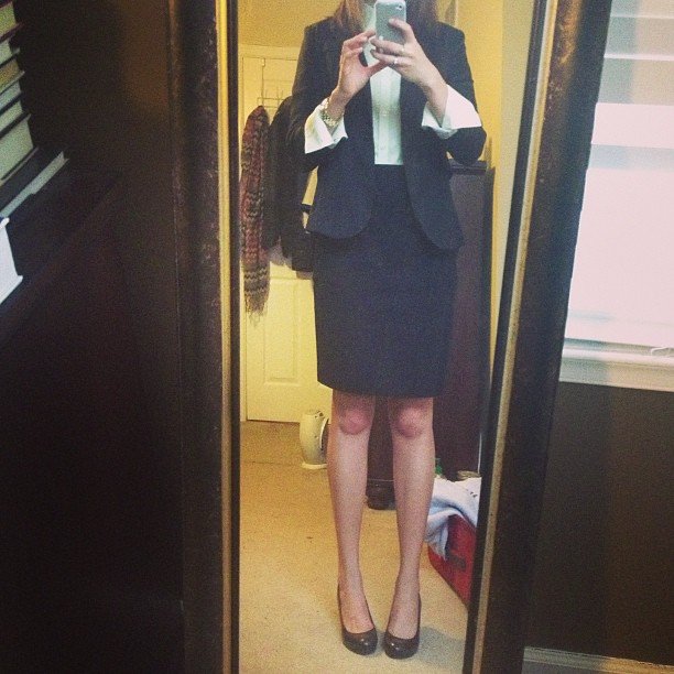 cute business suit for a girl