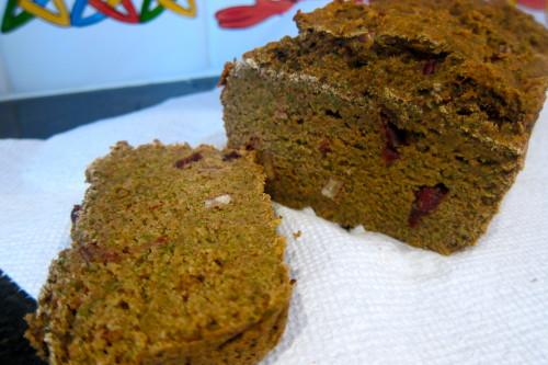 veggie juice pulp bread
