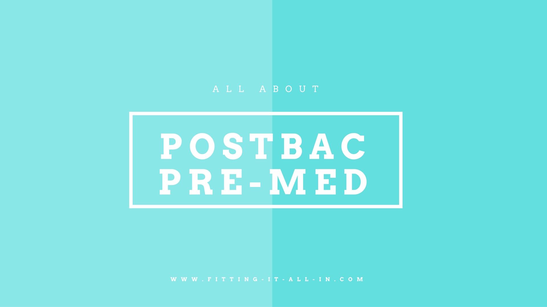 Postbac Pre-Med Programs