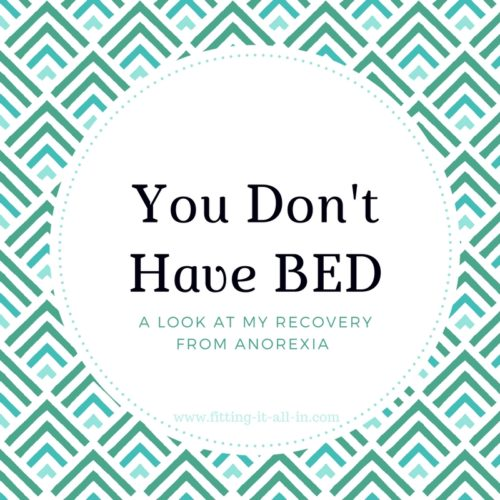 You Don't Have BED