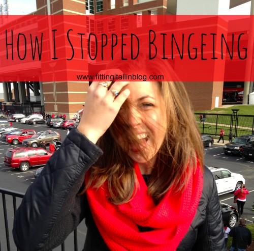 how i stopped bingeing