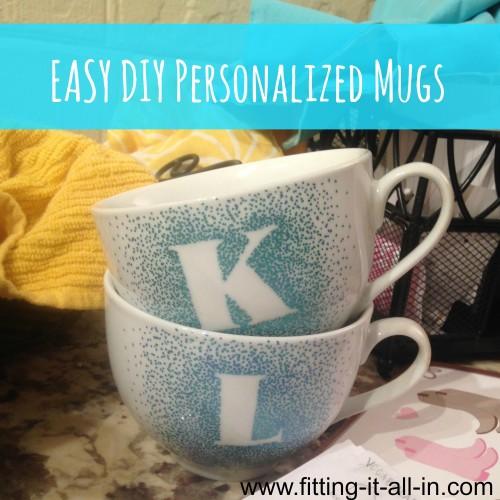 EASY DIY mugs