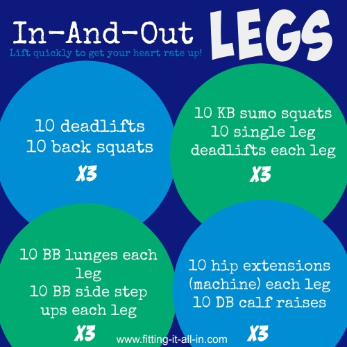In-and-out LEGS