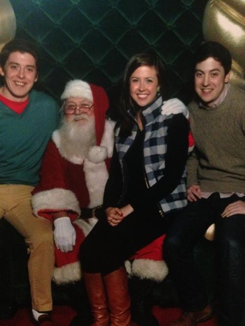 Clare, John, Kevin - Christmas 2014