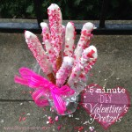 DIY Valentine's Pretzels