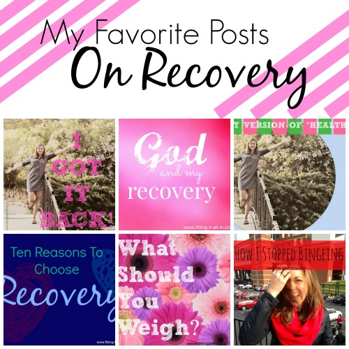 My favorite posts on Recovery