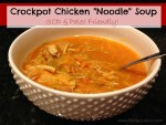 "Crockpot Chicken ""Noodle"" Soup! {SCD & PALEO Friendly}"