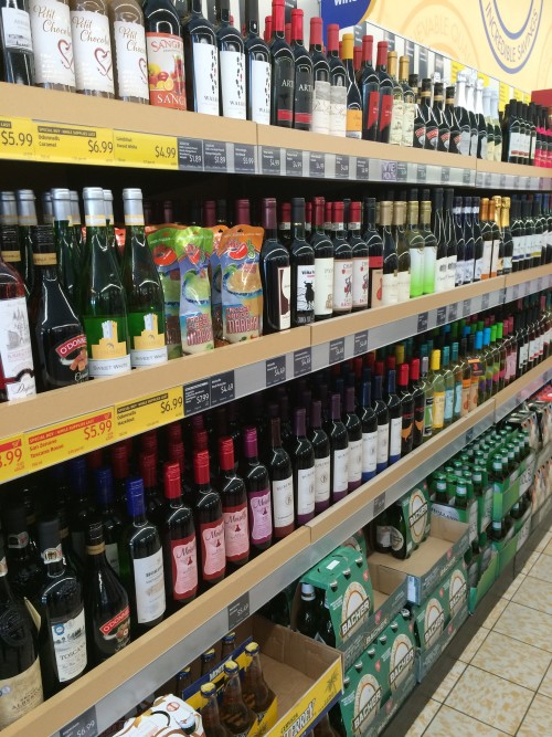 ALDI Wine and Beer