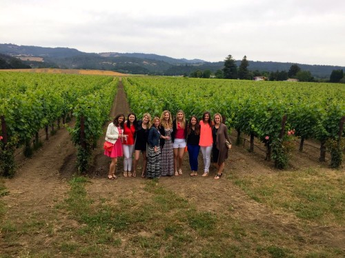 Heitz Cellar Napa - ND Girls