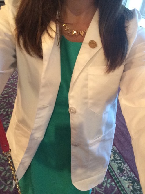 Clare - White Coat Ceremony - Medical School