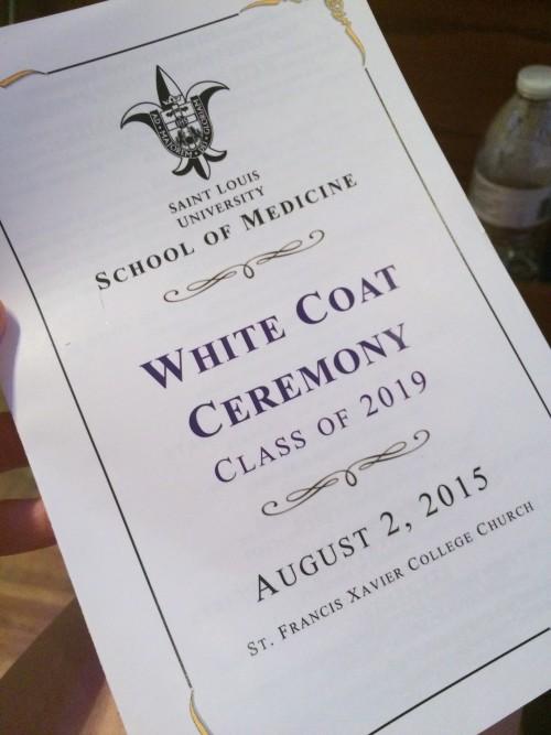 SLU White Coat Ceremony
