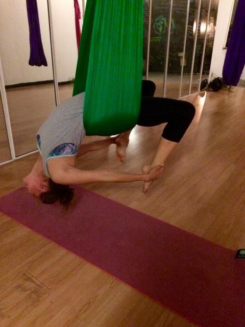 Clare - Aerial Yoga