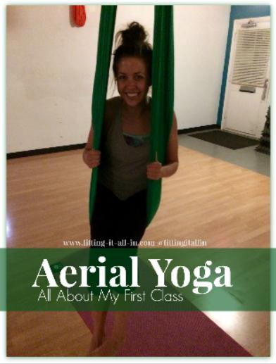 Aerial Yoga!