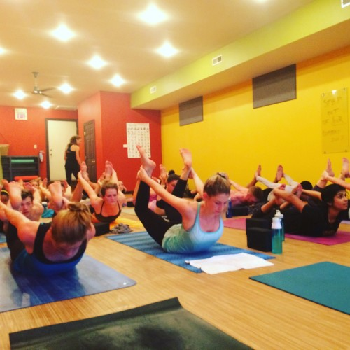 SLU Med Metro Power Yoga Class
