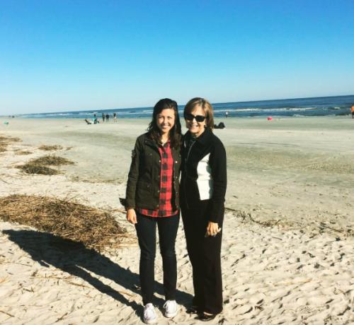 Mom & Clare in Hilton Head
