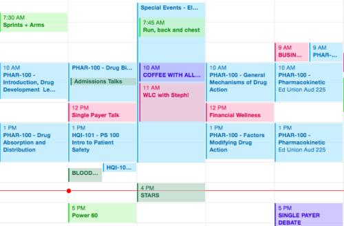 Med School Schedule