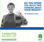 3 Minutes Can Save A  Life | NEDAwareness Week 2016