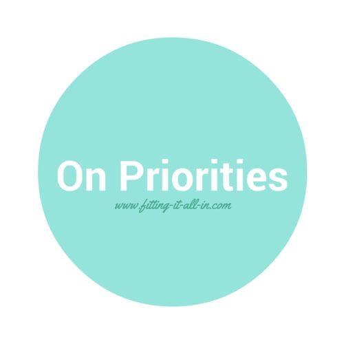 On Priorities