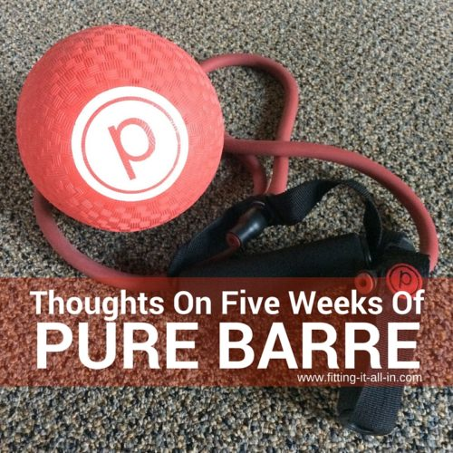 Thoughts On Five Weeks Of Pure Barre