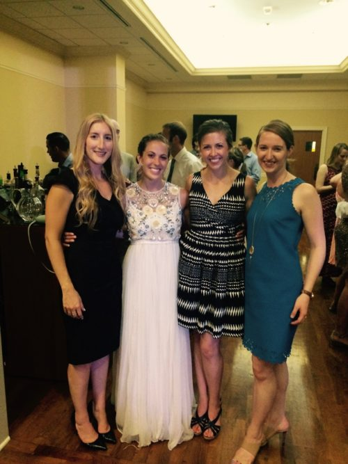 Irish Dance Friends at Jill's Wedding