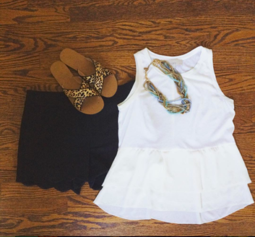 Summer Outfit - Fitting-It-All-In.com