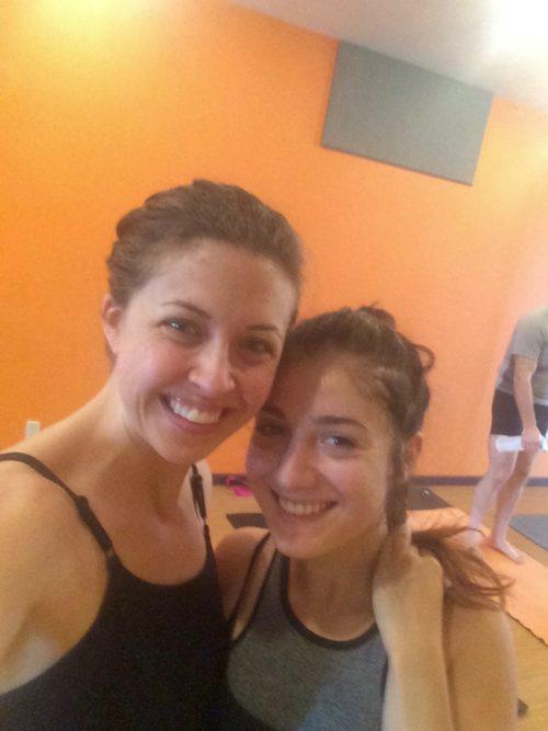 Clare & Vita - Yoga