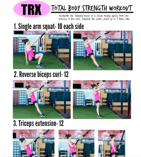 Fitnessista TRX Workout