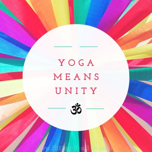Yoga Means Unity