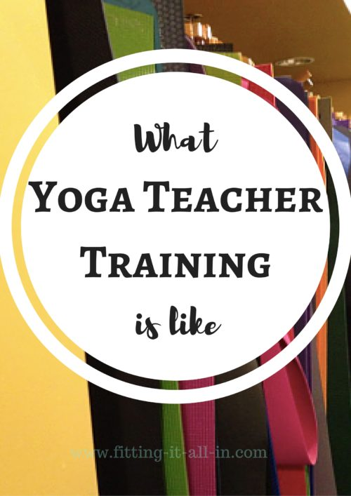 what yoga teacher training is like