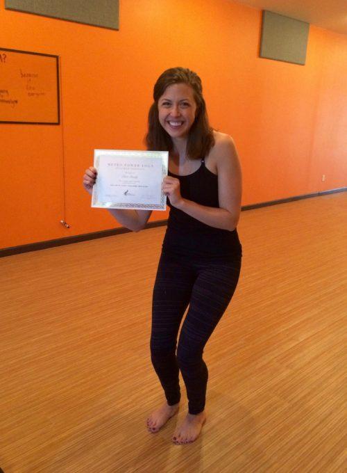 Clare - Yoga Teacher Training