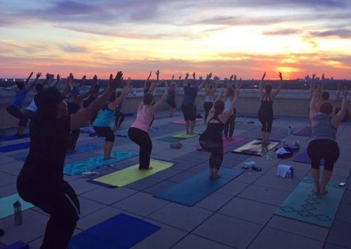 Yoga With Sante At The Chase Park Plaza