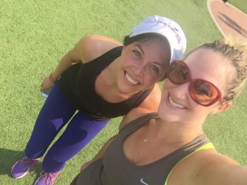 Clare & Lindsay - Active Nation Day Workout