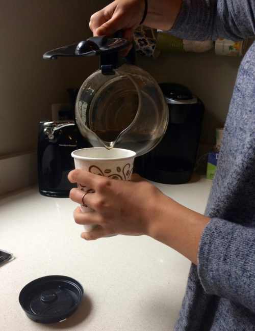 Dixie To Go Cups - Coffee