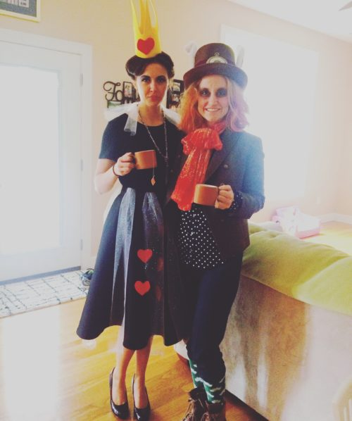 Laura and Clare - Halloween