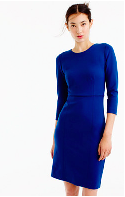 J.Crew Long Sleeved Midi Dress