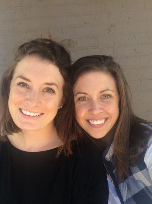 Alli and Clare
