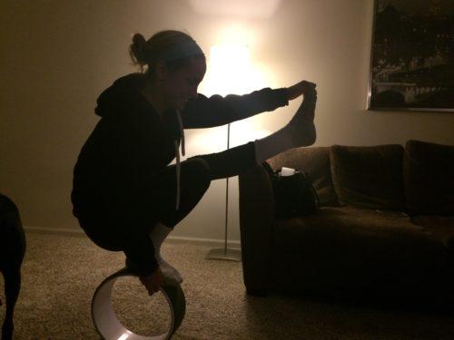 Laura - Yoga Wheel