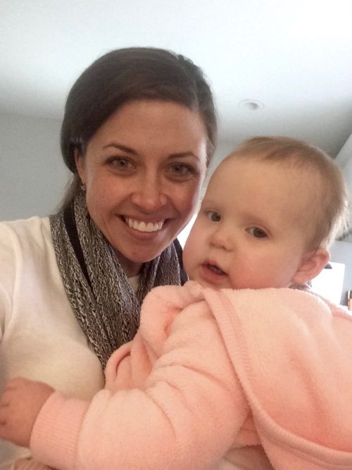 Clare and Baby D2