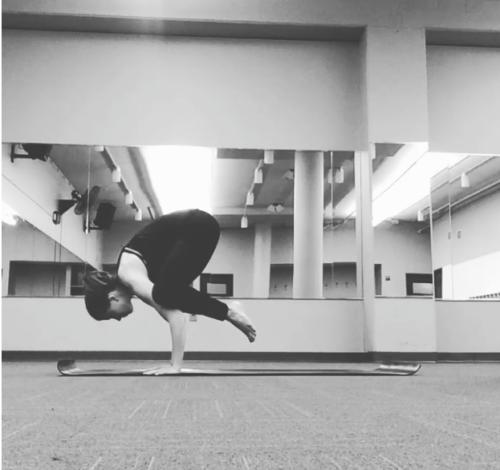 Clare - Yoga Crow