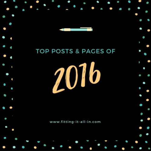 Top Posts and Pages of 2016