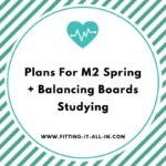 Back In Classes + Plans For Spring