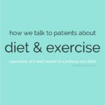How We Talk About Diet and Exercise With Primary Care Patients
