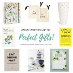 An Exhaustive List Of Perfect Gifts: Home & Office