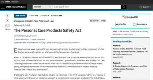 Beautycounter's Health and Safety Mission Featured in JAMA