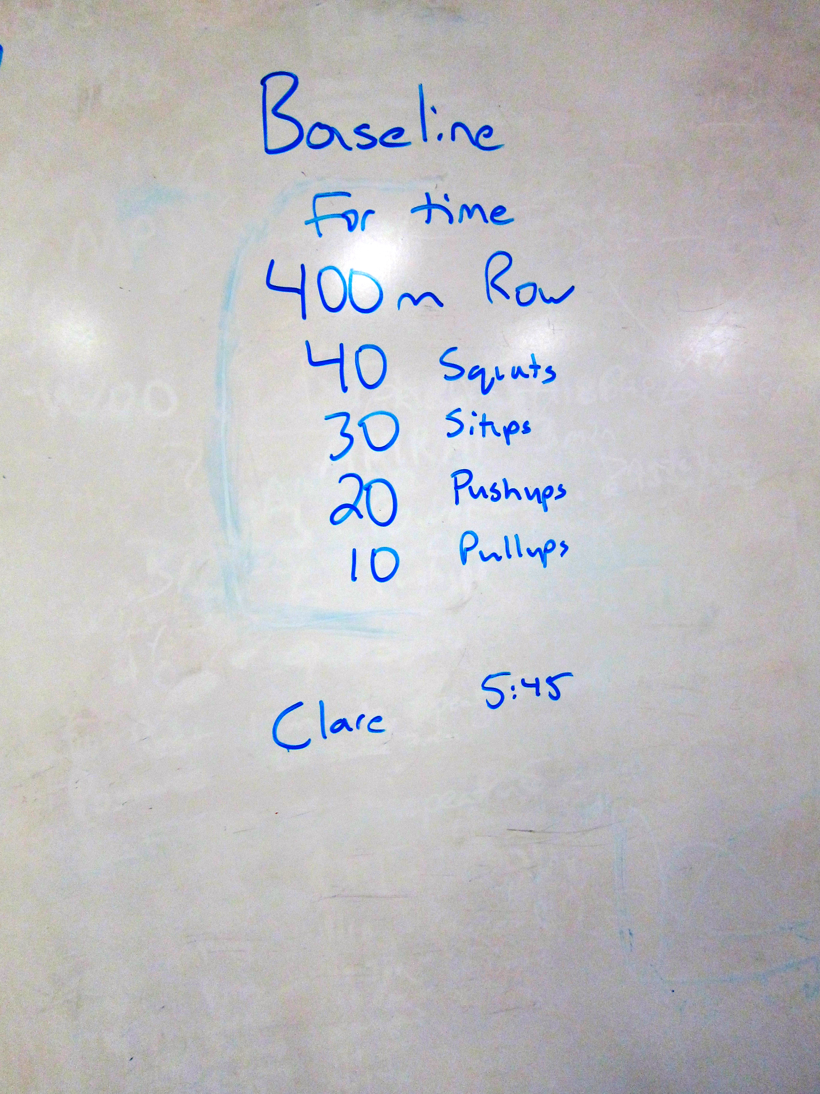 Crossfit Training Workouts For Beginners Wod My First Class Fitting It All In Baseline